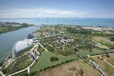 Gardens by the Bay | Grant Associates Futuristic Architecture, Landscape Architecture, Uk Landscapes, Conservatory Garden, Santiago Calatrava, Gardens By The Bay, The Beautiful Country, Four Seasons Hotel, Parcs