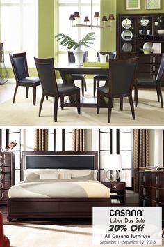 Save 20% on all Casana Furniture until September 12, 2016!