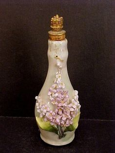 Vintage CROWN TOP Elfinware Perfume Bottle - GERMANY | eBay