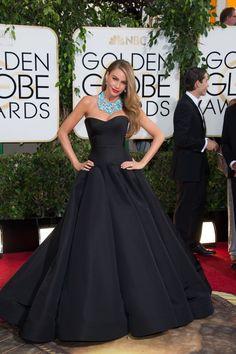 Sofia Vergara Golden Globes 2014