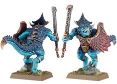 New lizardmen