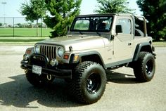 My 1999 Jeep Wrangler