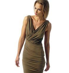 V1342, Misses' Dress