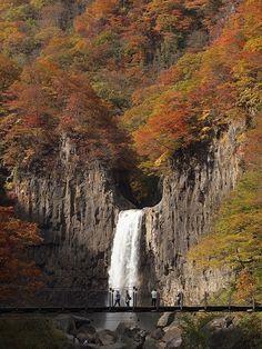 Naena Fall, Nigata, Japan