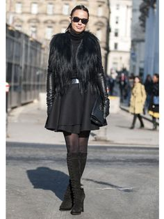 Day 4 Street Style at London Fashion Week