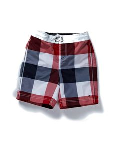 Tommy Hilfiger Kids - Brad Check Mini Swimshort  from £ 36.95