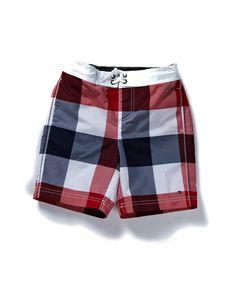 Tommy Hilfiger Kids - Brad Check Mini Swimshort  from £ 36.95