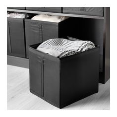 SKUBB Box - black - IKEA