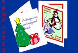 Spread Holiday Cheer Quickly with Templates: Get a jump on the holidays with these greeting card templates. Just print, sign, & mail.