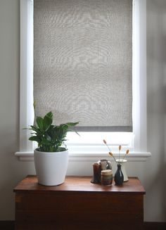 DIY: roller blinds