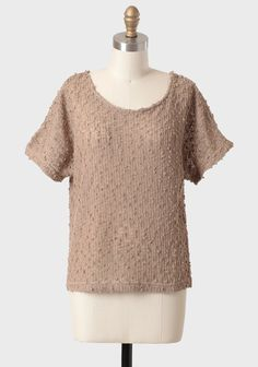 Coffee Break Open Knit Sweater | Modern Vintage New Arrivals