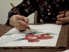 Chinese Painting - Peony for Beginners 1