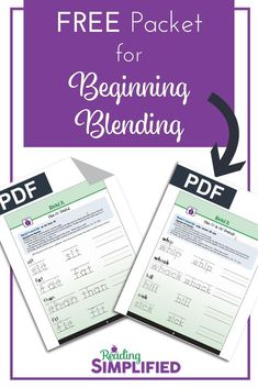 The Strategy we use with every new reader: Blend As You Read. Solve any blending problem with readers of all ages. Grab FREE Read It packet! Teaching Reading, Reading Games, Teaching Phonics, Reading Fluency, Kindergarten Reading, Learning, Reading Incentives, Blending Sounds, Student Motivation