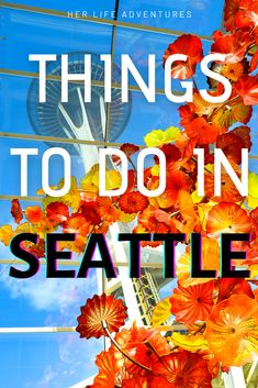The Perfect Weekend in Seattle, Washington | Her Life Adventures| #seattle #washington #thingstodo #weekend #guide #getaway #travel #itinerary #usadestinations #photography Usa Travel, Travel Tips, Travel Goals, Travel Advice, Travel Guides, Travel Destinations, River Rock Fireplaces, Seattle Aquarium, Visiting Seattle