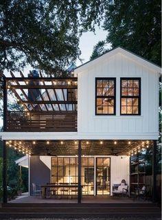 Dream Home Design, My Dream Home, Dream House Exterior, Sims House, House Goals, Exterior Design, Future House, Modern Farmhouse, Building A House