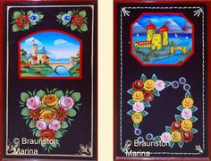 Boat Decorations, Roses and Castles, Collings, Buckby Can, water can Castle Painting, Boat Painting, Canal Boat Art, Art And Craft Design, Narrowboat, Hand Painted Furniture, Learn To Paint, Best Artist, Art Google