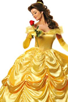 I cant even explain how jealous I am of this girl and how perfectly she pulls this off!!! Belle costume disney princess beauty and the beast
