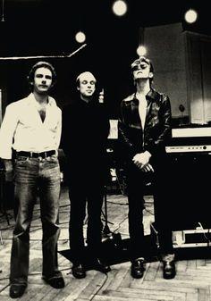 Robert Fripp, Brian Eno, David Bowie