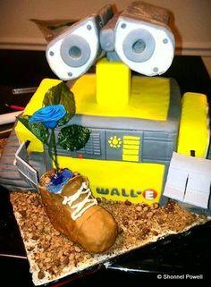 Wall-E Cake! #Disney #Pixar