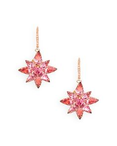 these make me smile - they remind me of Jem's (of Jem & the holograms) earrings, just more subtle,