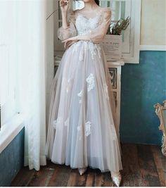 Graduation Dresses Long, A Line Prom Dresses, Flower Dresses, Sexy Dresses, Bridal Dresses, Evening Dresses, Bridesmaid Dresses, Sweet Dress, Dress Making