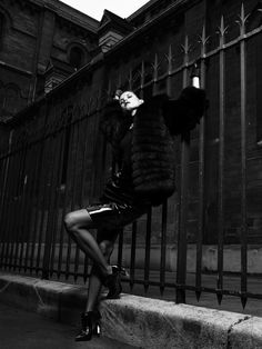 Malgosia Bela by Victor Demarchelier for Antidote