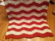Crocheted dish towel! I love the rippled pattern. 100% cotton yarn.  Great tutorial for ripple pattern here http://attic24.typepad.com/weblog/neat-ripple-pattern.html