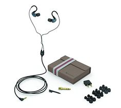 Audiofly AF180 Universal In-Ear Monitor (Stone Blue): Electronics  Sound Proof Headphones New Headphones Bass Headphones Harman Kardon Headphones Philips Wireless Headphones Good Headphones Top Rated Headphones Ifrogz Headphones Best On Ear Headphones Most Comfortable Headphones Active Noise Cancelling Headphones Auvio Headphones