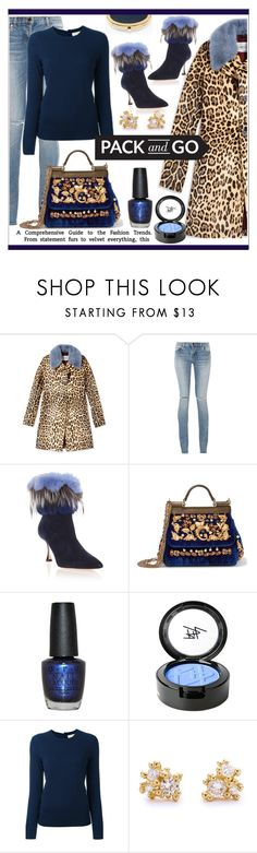 """Pack and Go * Winter Getaway"" by calamity-jane-always ❤ liked on Polyvore featuring Valentino, Yves Saint Laurent, Manolo Blahnik, Dolce&Gabbana, OPI, Beauty Is Life, Tory Burch, Ruth Tomlinson, Chico's and Boots"