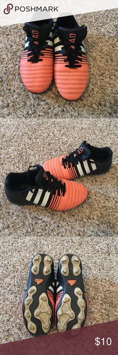 Adidas Kids soccer cleats. Size US 3 1/2   UK 3 Boys Adidas soccer cleats. Size US 3 1/2   UK 3. Excellent condition Adidas Shoes
