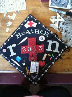 Graduation Cap Decoration Ideas 2012 | http://www.pic2fly.com/Nursing+Graduation+Cap+Decoration+Ideas.html