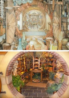 The Hobbit pantry Tolkien, Gandalf, Legolas, Kili, Hobbit An Unexpected Journey, Into The West, Earth Homes, Earthship, The Hobbit