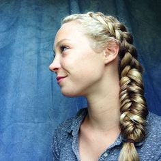 """""""Hey guys! My hair of the day today is a nice and fluffy side Dutch braid into an even fluffier fishtail  enjoy!  Also thank you guys so much for helping me reach 2,900 followers! Just 100 more to go! You rock ✌️"""" Photo taken by @hair.by.haley on Instagram, pinned via the InstaPin iOS App! http://www.instapinapp.com (08/20/2015)"""