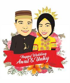 Vektor hadiah pernikaahan