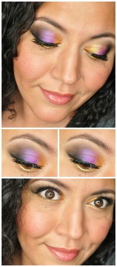Makeup Inspiration With Stilazzi Eyeshadow - www.painted-ladies.com