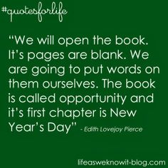Quotes for life...the new year #quotesforlife #lifeasweknowitblog