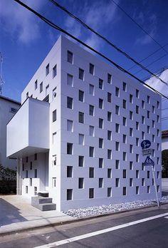 Cell Brick House by Atelier Tekuto, Japan @freshome