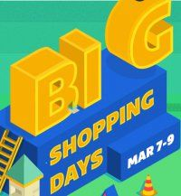 Big Shopping Days From 7th Mar-9th MarExtra 10% Off Via SBI Bank Cards From Flipkart