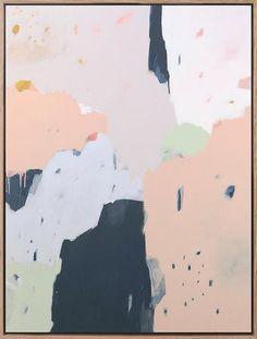 Paintings by Melbourne, Australia-based artist Sarah Kelk. More images below. Sarah Kelk's Website