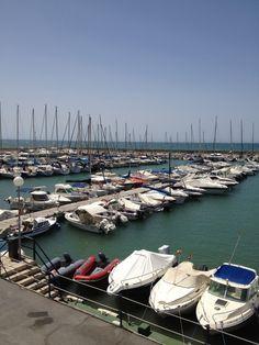 El Candado port, Malaga, Spain