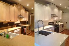 EcoRefinishers Toronto Kitchen Cabinets has 47 reviews and average rating of 9.91489 out of 10 Toronto area Home Improvement Projects, Toronto, Kitchen Cabinets, Kitchen Cabinetry, Kitchen Base Cabinets, Home Projects, Home Improvement, Dressers
