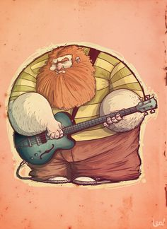 Bass man by ~leocartunista on deviantART