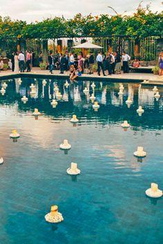 wedding pool party decoration ideas 3