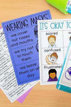 Free resources to help stay safer for the 2020-2021 school year by Teaching with Haley. It's so important we give our students the tools they need to discuss and understand the current situation. From writing pages about social distancing, posters about masks to discussion cards to help explain the situation. Plus, there are teacher pages to help you feel more confident explaining. Suitable for preschool, kindergarten, 1st, and 2nd-grade students virtually or in the classroom. Learn more.
