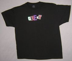 Custom Made To Order Wondiosyncra-Tees T-shirt - Your Choice of Word, Color, and Size - $20 - Example: Geeky