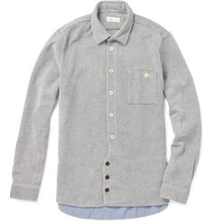 vangelis heavyweight cotton twill shirt / folk / mr porter