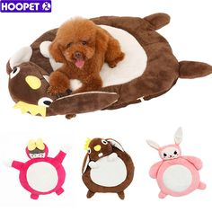 Pet Supplies Cartoon Pad Bolster Bed Mat Soft Cushion Water-Resistant Base Pink (S)-Intl | Lazada Malaysia