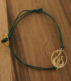 Alpha Chi Omega - lyre bracelet