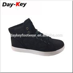 Hot sale fashion fastory price high cut custom skateboard shoes