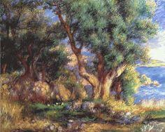 Renoir, Olive tree at Menton